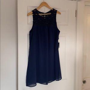 As U Wish lace chiffon dress